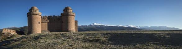 Kasteel van La Calahorra stock afbeeldingen