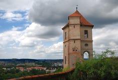 Kasteel van Landshut royalty-vrije stock afbeelding