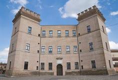 Kasteel van Mesola. Emilia-Romagna. Italië. Royalty-vrije Stock Afbeeldingen