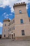 Kasteel van Mesola. Emilia-Romagna. Italië. Stock Afbeelding