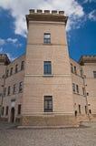 Kasteel van Mesola. Emilia-Romagna. Italië. Royalty-vrije Stock Foto's