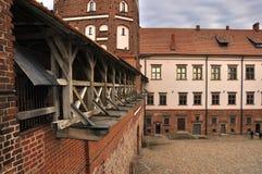 Kasteel van Mir, Wit-Rusland Royalty-vrije Stock Fotografie