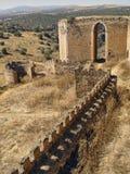 Kasteel van Montalban, Toledo, Spanje royalty-vrije stock foto's
