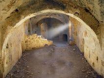 Kasteel van Montalban, Toledo, Spanje stock foto