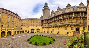 Kasteel van Olesnica-Hertogen - Olesnica, Polen royalty-vrije stock afbeeldingen