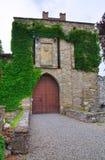 Kasteel van Riva Pontedell'olio Emilia-Romagna Italië Royalty-vrije Stock Afbeeldingen