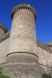 Kasteel van Rocca Pia in Tivoli (Rome, Italië) Royalty-vrije Stock Foto's