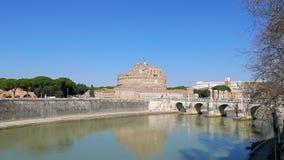 Kasteel van San Angelo, Rome, Italië 4K stock footage