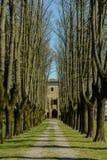 Kasteel van San Pietro Cerro Italy Stock Afbeelding