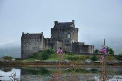 Kasteel 3 van Schotland Eilean Donan Stock Foto