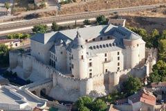 Kasteel van Simancas in Valladolid, Spanje royalty-vrije stock fotografie