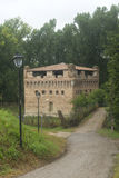 Kasteel van Stellata (Ferrara) Royalty-vrije Stock Foto's