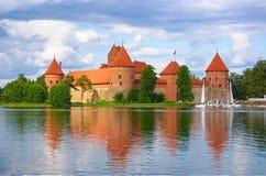 Kasteel van Trakai royalty-vrije stock fotografie