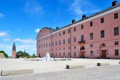 Kasteel van Uppsala, 1540. Zweden stock fotografie