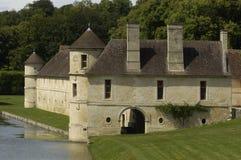 Kasteel van Villarceaux stock afbeelding