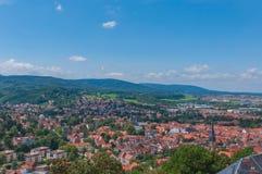 Kasteel van Wernigerode, Duitsland Royalty-vrije Stock Foto's