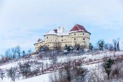 Kasteel Veliki Tabor in Kroatië stock foto's