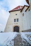 Kasteel Veliki Tabor in Kroatië royalty-vrije stock afbeelding