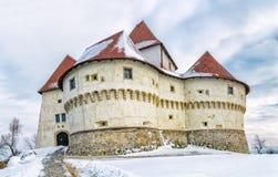 Kasteel Veliki Tabor in Kroatië royalty-vrije stock fotografie