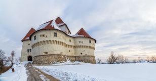 Kasteel Veliki Tabor in Kroatië royalty-vrije stock afbeeldingen