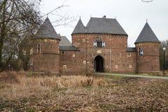 Kasteel Vondern - Oberhausen - Duitsland Royalty-vrije Stock Afbeeldingen