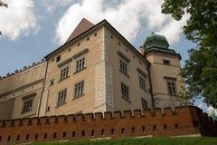 Kasteel Wawel stock foto