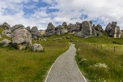 Kasteelheuvel Nieuw Zeeland Royalty-vrije Stock Fotografie