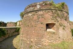 Kasteelkerker, Casale Monferrato, Italië stock foto's