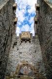 Kasteelmuren Stock Foto