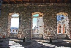 Kasteelruïnes Royalty-vrije Stock Foto's