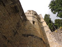 Kasteelruïnes, Beaufort, Luxemburg Royalty-vrije Stock Afbeelding