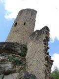 Kasteelruïnes Beaufort, Luxemburg Royalty-vrije Stock Afbeelding