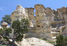 Kasteeltuinen, Wyoming Royalty-vrije Stock Afbeeldingen