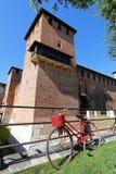 Kasteelvesting (Castelvecchio) in Verona, noordelijk Italië Royalty-vrije Stock Foto's
