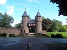 Kastel de Haar, Utrecht, Nederländerna Royaltyfri Foto