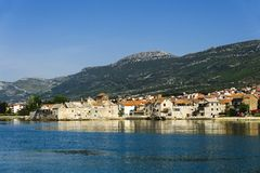 Kastel Gomilica Royalty Free Stock Photography