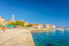 Kastel Stafilic in Kroatië stock fotografie