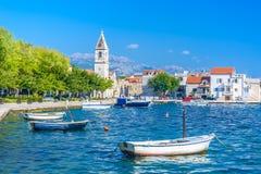 Kastel Sucurac -旅游地方在克罗地亚 库存照片