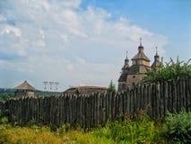 Kastelen in de Oekraïne Royalty-vrije Stock Afbeeldingen