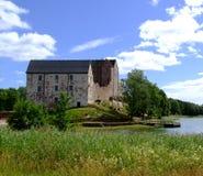 城堡kastelholm 库存图片