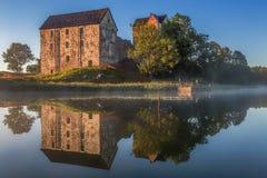 Kastelholm-Schloss in Aland stockfotos