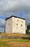 Kastelholmkasteel op heuvel royalty-vrije stock fotografie