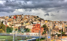 Kastella-Mikrolimano district of Athens Royalty Free Stock Images