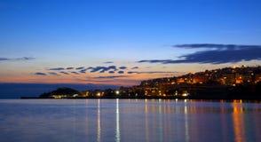 Kastella & Mikrolimano, Piraeus royalty-vrije stock foto