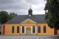 Kastellet, Copenhagen. Chapel at the Kastellet, Copenhagen Royalty Free Stock Photo