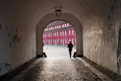 Kastellet fortress in Copenhagen Royalty Free Stock Photography