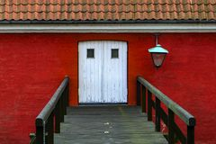 Kastellet Köpenhamn Arkivfoto