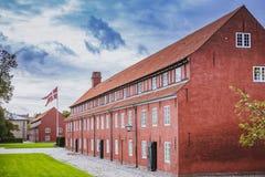 Kastellet Kopenhaga Dani wojskowego fort fotografia royalty free