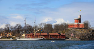 Kastellet in Stockholm Stock Image