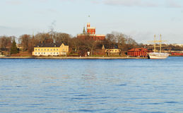Kastellet, Stockholm Royalty Free Stock Images